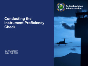 Conducting the Instrument Proficiency Check.001